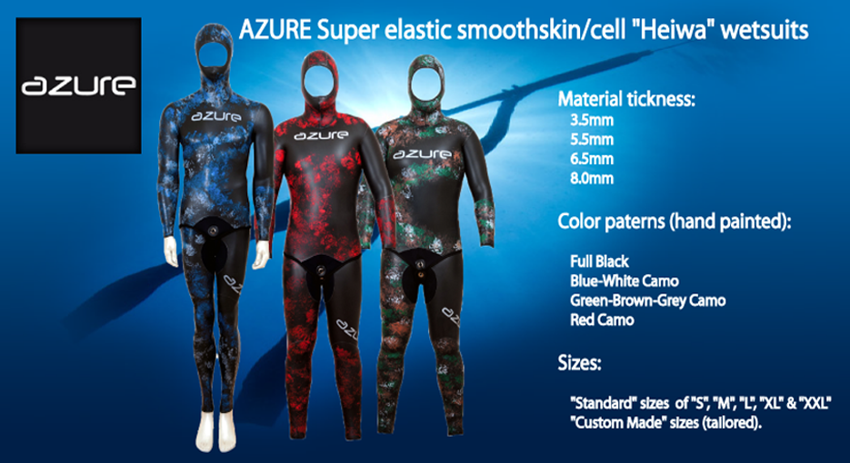 AZURE WETSUITS